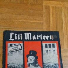 Discos de vinilo: LILI MARLENN-HANNA SCHYGULLA-BSO 1981-EMI. Lote 72421111