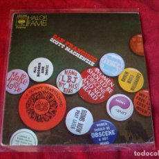 Discos de vinilo: SCOTT MACKENZIE SAN FRANCISCO - COMO UNA PELICULA ANTIGUA SELLO CBS 1973 MUY BUEN ESTADO. Lote 72434923