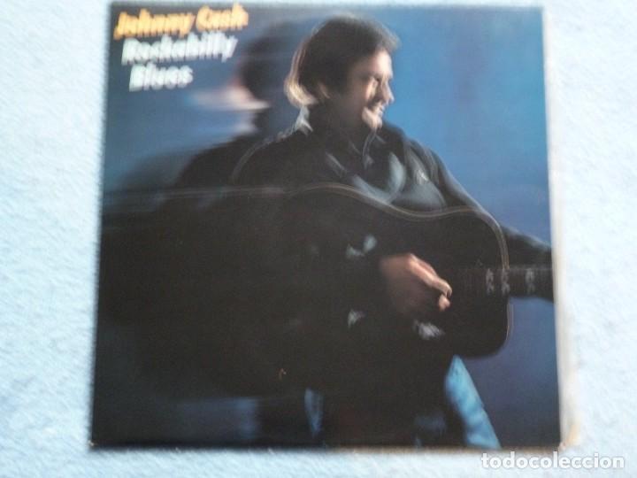 JOHNNY CASH,ROCKABILLY BLUES EDICION ESPAÑOLA DEL 81 (Música - Discos - LP Vinilo - Country y Folk)
