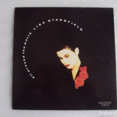 Discos de vinilo: LISA STANSFIELD, ALL AROUND THE WORLD, MAXI-SINGLE EDICION ESPAÑOLA 1989 ARISTA RECORDS. Lote 72444639