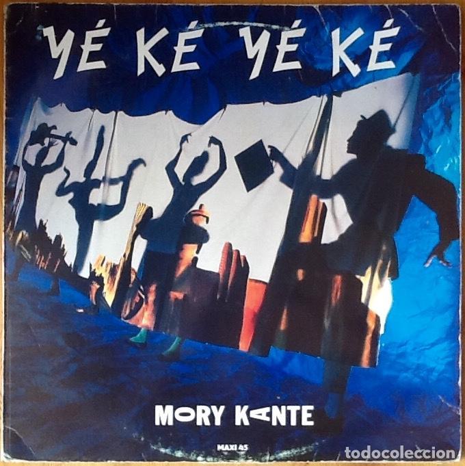 "MORY KANTE : YE KE YE KE [ESP 1988] 12"" (Música - Discos de Vinilo - Maxi Singles - Étnicas y Músicas del Mundo)"
