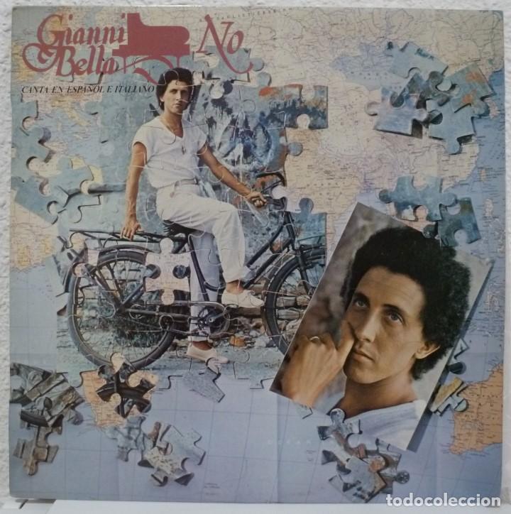 GIANNI BELLA - NO (LP CBS 1978 ESPAÑA) CANTA EN ESPAÑOL E ITALIANO (Música - Discos - LP Vinilo - Canción Francesa e Italiana)