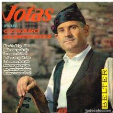 Discos de vinilo: GENARO DOMINGUEZ - JOTAS - EP 1961. Lote 94809575