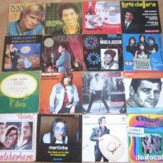 Discos de vinilo: LOTE 16 SINGLES / EPS VARIOS ESTILOS Y ÉPOCAS.. Lote 72683387