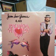 Discos de vinilo: JUAN LUIS GUERRA 4.40 - BACHATA ROSA - LP. . Lote 72697015