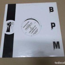 Discos de vinilo: CONSTRUCTION CREW (MX) BREAK THE BEAT +2 TRACKS AÑO 1988 – EDICION U.K.. Lote 72700067