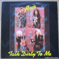 Dischi in vinile: POISON - TALK DIRTY TO ME - LP - 1986. Lote 72705119
