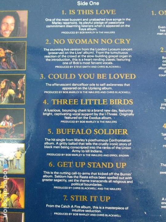 Discos de vinilo: LEGEND THE BEST OF BOB MARLEY AND THE WAILERS. 1972-1981.DISCO DE VINILO. VER FOTOGRAFIAS ADJUNTAS - Foto 6 - 72710935
