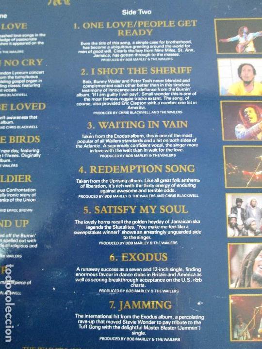 Discos de vinilo: LEGEND THE BEST OF BOB MARLEY AND THE WAILERS. 1972-1981.DISCO DE VINILO. VER FOTOGRAFIAS ADJUNTAS - Foto 7 - 72710935