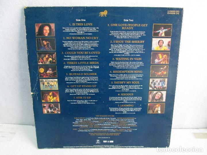 Discos de vinilo: LEGEND THE BEST OF BOB MARLEY AND THE WAILERS. 1972-1981.DISCO DE VINILO. VER FOTOGRAFIAS ADJUNTAS - Foto 8 - 72710935