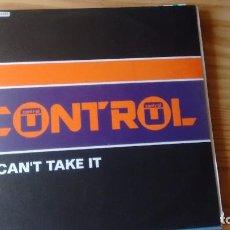 Discos de vinilo: MAXISINGLE (VINILO) 12 DE CONTROL. Lote 72711199