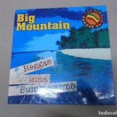 Discos de vinilo: BIG MOUNTAIN (MX) REGGAE INNA SUMMERTIME +1 TRACK AÑO 1994. Lote 72713351