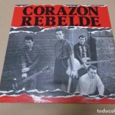 Discos de vinilo: CORAZON REBELDE (MX) ADONDE VAN +2 TRACKS AÑO 1984. Lote 72719167