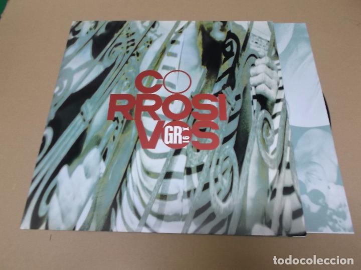 CORROSIVOS (MX) TU ME QUISISTES MATAR +2 TRACKS AÑO 1991 – ENCARTE INTERIOR (Música - Discos de Vinilo - Maxi Singles - Grupos Españoles de los 90 a la actualidad)