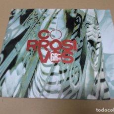 Discos de vinilo: CORROSIVOS (MX) TU ME QUISISTES MATAR +2 TRACKS AÑO 1991 – ENCARTE INTERIOR. Lote 72719515