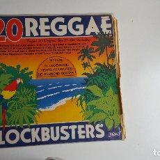 Discos de vinil: 20 REGGAE BLOCKBUSTERS (VINILO). Lote 72736339
