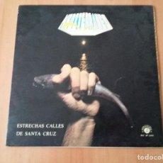 Discos de vinilo: 2 LP - MEDITERRANEO - ESTRECHAS CALLES DE SANTA CRUZ Y ALGO NUEVO. Lote 71017345