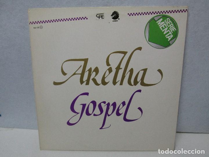 ARETHA FRANKLIN. GOSPEL. DISCO VINILO. VER FOTOGRAFIAS ADJUNTAS (Música - Discos - Singles Vinilo - Funk, Soul y Black Music)