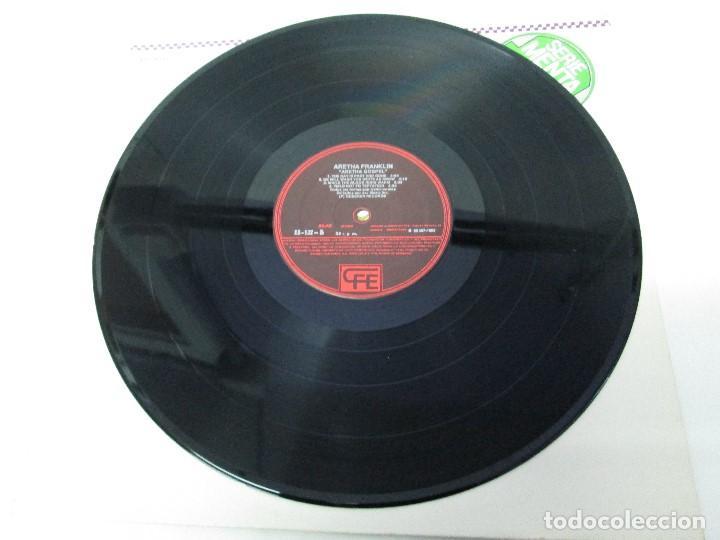 Discos de vinilo: ARETHA FRANKLIN. GOSPEL. DISCO VINILO. VER FOTOGRAFIAS ADJUNTAS - Foto 4 - 72743155
