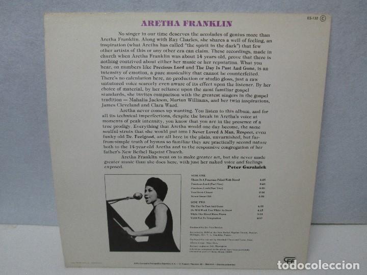 Discos de vinilo: ARETHA FRANKLIN. GOSPEL. DISCO VINILO. VER FOTOGRAFIAS ADJUNTAS - Foto 7 - 72743155