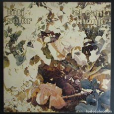 Discos de vinilo: TOTI SOLER -EL CANT MONJO- ZELESTE EDIGSA 1975 PORTADA ABIERTA. RAFAEL ARMENGOL.. Lote 72777131
