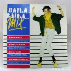 Discos de vinilo: BAILA, BAILA - MIX - HIP-HOP RUMBA, BOLERO - SUMMER PACHANGA MIX - DIVUCSA 1990 - DISCO DE VINILO LP. Lote 72784131