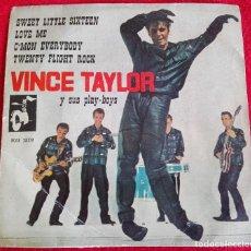 Discos de vinilo: VINCE TAYLOR AND HIS PLAY-BOYS EP RARA EDICION ESPAÑOLA 1961 ROCK 'N' ROLL ROCKABILLY. Lote 72791663