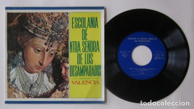 ESCOLANIA DE NUESTRA SEÑORA DE LOS DESEMPARADOS, VALENCIA (Música - Discos de Vinilo - Maxi Singles - Clásica, Ópera, Zarzuela y Marchas)