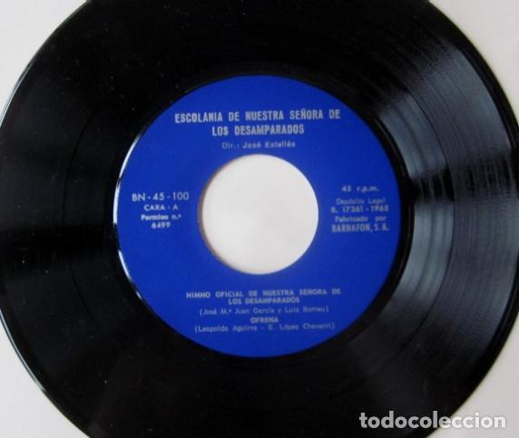 Discos de vinilo: ESCOLANIA DE NUESTRA SEÑORA DE LOS DESEMPARADOS, VALENCIA - Foto 2 - 72839831