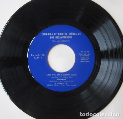 Discos de vinilo: ESCOLANIA DE NUESTRA SEÑORA DE LOS DESEMPARADOS, VALENCIA - Foto 3 - 72839831