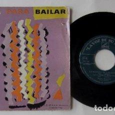 Discos de vinilo: MUSICA PARA BAILAR - LA VOZ DE SU AMO. Lote 72840499