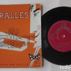 Discos de vinilo: JAIME MIRALLES SU TROMPETA Y SU ORQUESTA - ORPHEO. Lote 72841175
