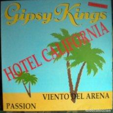 Discos de vinilo: GIPSY KINGS – HOTEL CALIFORNIA MAXI 3 TEMAS. Lote 72856751