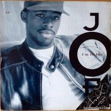 Discos de vinilo: JOE : I'M IN LUV [USA 1993] 12'. Lote 72856987