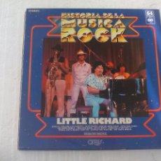 Disques de vinyle: LITTLE RICHARD. HISTORIA DE LA MUSICA ROCK Nº 64. ORBIS. LP VINILO, . Lote 72887063