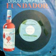 Discos de vinilo: PEDIDO MINIMO 5€.FUNDADOR.LOS AGAROS. Lote 72888379