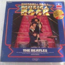 Discos de vinilo: THE BEATLES WITH TONY SHERIDAN ESPECIAL COLECCIONISTAS HISTORIA DE LA MUSICA ROCK Nº 6 ORBIS LP . Lote 72893559