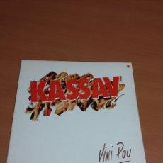 Discos de vinilo: KASSAV - VINI POU (EDICION FRANCESA). Lote 72906087