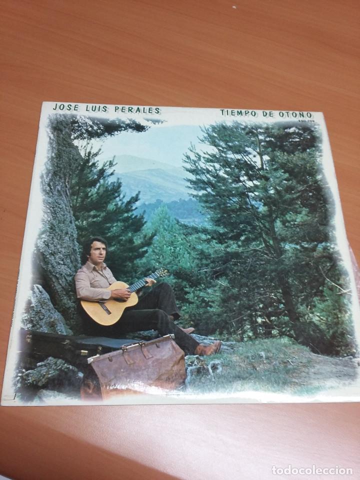 JOSE LUIS PERALES - TIEMPO DE OTOÑO (Música - Discos - LP Vinilo - Solistas Españoles de los 70 a la actualidad)