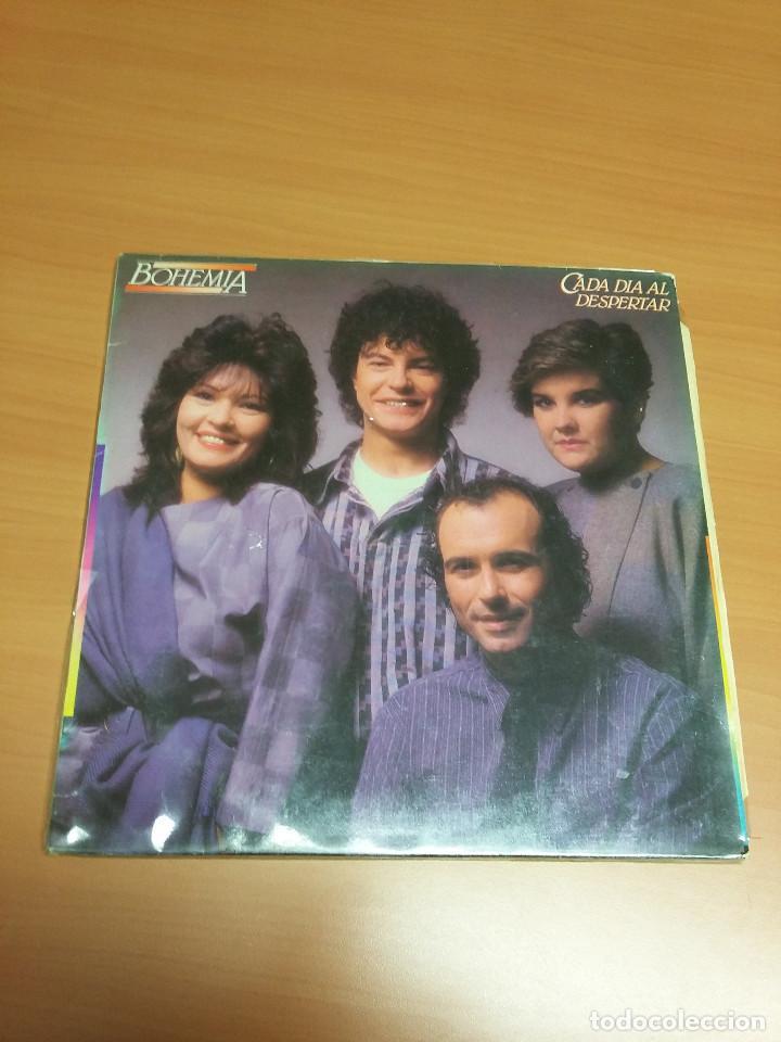 BOHEMIA - CADA DIA AL DESPERTAR (Música - Discos - LP Vinilo - Grupos Españoles de los 70 y 80)