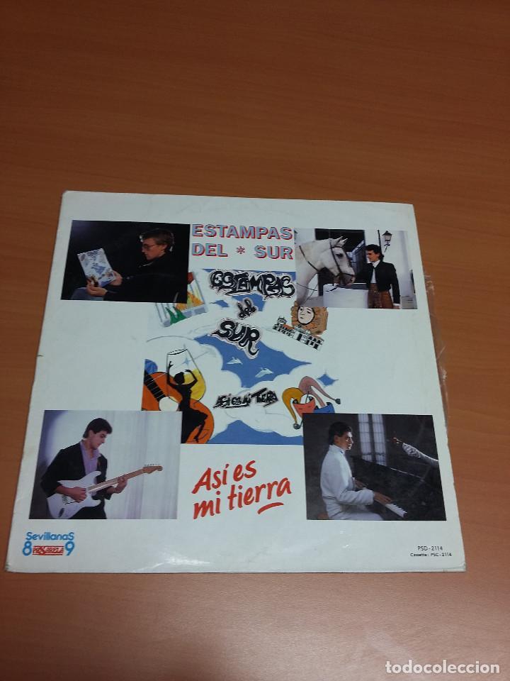 ESTAMPAS DEL SUR - ASI ES MI TIERRA (Música - Discos - LP Vinilo - Grupos Españoles de los 70 y 80)