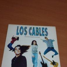 Discos de vinilo: LOS CABLES - HACERSIEMPRELOMISMO. Lote 72907839