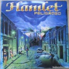 Discos de vinilo: HAMLET - PELIGROSO - LP - 1992. Lote 72910327