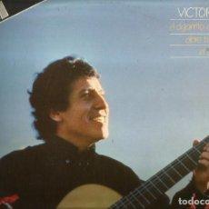 Discos de vinilo: DOBLE LP VICTOR JARA (EL CIGARRITO, CANTO LIBRE, ABRE TU VENTANA, EL ARADO, ETC). Lote 72923991