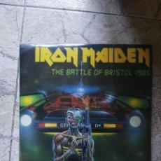 Discos de vinilo: IRON MAIDEN.THE BATTLE OF BRISTOL 1986.BOOTLEG VINILO. Lote 128453983