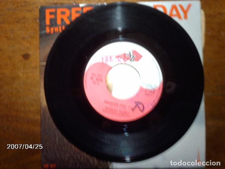 Discos de vinilo: samuel hobo - jean michel jarre - freedom day + synthetic man - Foto 3 - 72929087