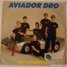 Discos de vinilo: AVIADOR DRO..VOY A DESPEGAR.(DRO 1987). Lote 72932655