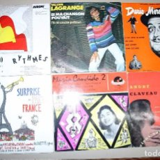 Discos de vinilo: LOTE 24 SINGLES FRANCESES. Lote 72943123