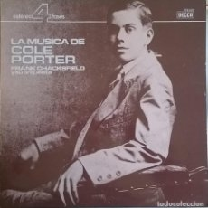 Discos de vinilo: FRANK CHACKSFIELD Y SU ORQUESTA – LA MUSICA DE COLE PORTER, DECCA – PFS 4250, DECCA – 9-56 008. Lote 72952887