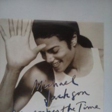 Discos de vinilo: MICHAEL JACKSON REMEMBER THE TIME SINGLE VINILO HOLANDA EXCELENTE ESTADO. Lote 72998231
